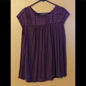 Purple Merona Short Sleeve Top 💁🏻♀️